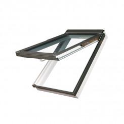 FAKRO PPP-V Klapp-Schwingfenster mit Dauerlüftung - Kunststoff-Dachfenster