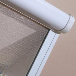 Fakro Insektenschutz-Rollo Detail A (Abb. Rahmen weiß)