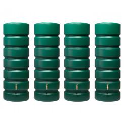 Garantia Gartentank Classico Set 2600 Liter (4x650 Liter) dunkelgrün