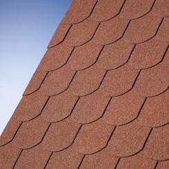 Victorian® Plus Dachschindeln schwarz - IKO Biberschwanzschindeln