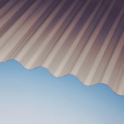 Marlon CS Longlife Wellplatten Rund/Sinus 76/18 braun