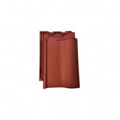 Nelskamp NIBRA F8 1/2 - Flachdachziegel rot engobiert