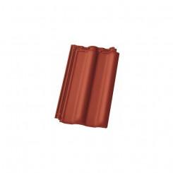 Nelskamp Nibra Groß-Ziegel DS 5 rot engobiert - Einer der größen Dachziegel der Welt