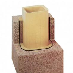 Nisott Isolierschornstein IS - dreischalig, Bausatz, massiv