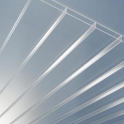 PLEXIGLAS® ALLTOP Stegplatten SDP 16/64 glatt farblos