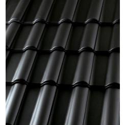 Röben Dachziegel Bari basalt engobiert - Flachdachziegel