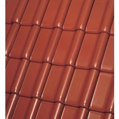 Röben Dachziegel Monzaplus kastanienbraun - Flachdachziegel