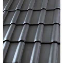 Röben Dachziegel Piemont schiefergrau - Flachdachziegel