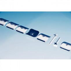 Komplett-Set zur Befestigung von Wellplatten 76/18 Plexiglas®