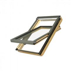 FAKRO Dachfenster FTP-V P2 - Holzfenster klar lackiert