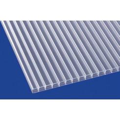 Stegplatte aus Polycarbonat Eco 16mm klar