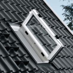VELUX Wohn- Ausstiegsfenster GXL, Holz weiß lackiert