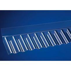 Acrylglas Wandanschluss Sinus 76/18