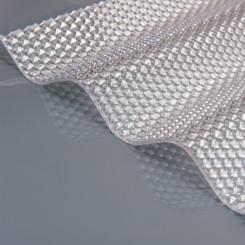 Marlon CS Crystalight Wellplatten Polycarbonat WP 76/18 Rund farblos