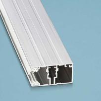 Schraubprofil Rand komplett für 16 mm Stegplatten