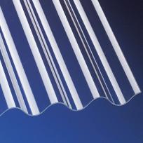 Acrylglas Wellplatten 3 mm glatt P5 Sinus 177/51 klar
