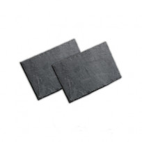 Schieferplatten Rechteck 30 x 20 cm Naturschiefer ungelocht