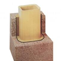 Nisott Isolierschornstein IS P16 Komplett-Set
