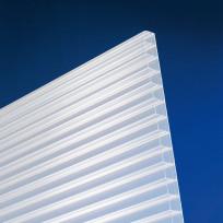 Polycarbonat Stegplatte 16 mm opal-weiß longlife