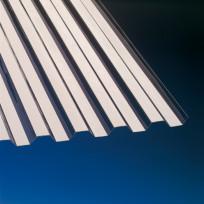 PVC Profilplatte Trapez 70/18 bronce 1,1 mm