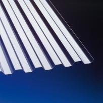 PVC Profilplatte Trapez 70/18 klar 1,1 mm