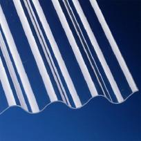 PVC Profilplatten 1,1 mm Typ P5 177/51 klar