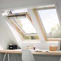 VELUX Schwingfenster GGL 3062 ENERGIE Schallschutz Holz klar