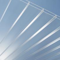 PLEXIGLAS® RESIST Stegplatten AAA SDP 16/64 farblos