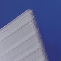 Polycarbonat Hohlkammerplatten Thermo 25 mm klar longlife