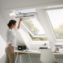 VELUX Dachfenster GGU 0070 THERMO Schwingfenster Kunststoff
