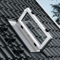 VELUX Ausstiegsfenster GXL FK06 2066 Holz weiß 66x118