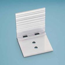 Abschluss- und Haltewinkel Aluminium für Schraub- und Thermoprofil