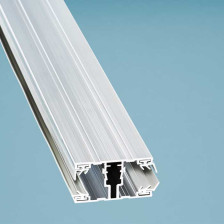 Alu-Verlegesystem für 16 mm Stegplatten, Schraubprofil Mitte