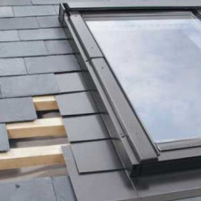 Fakro Eindeckrahmen ELV, für Schiefer, Dachschindeln