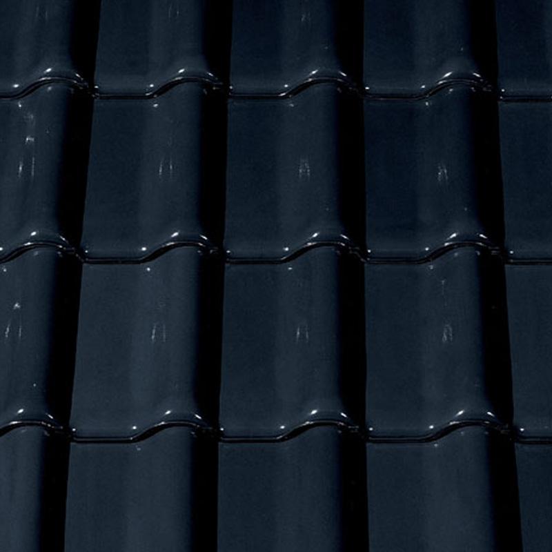 1m dachziegel c68f schwarz glasiert tondachziegel. Black Bedroom Furniture Sets. Home Design Ideas