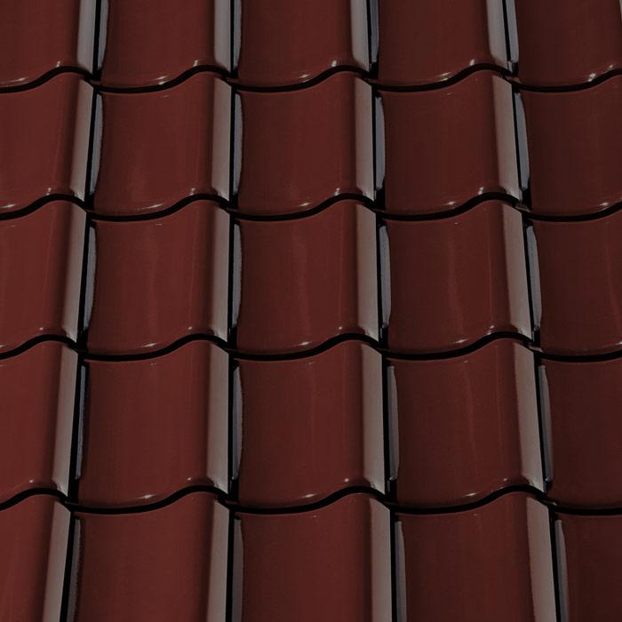 1m c67w weinrot glasiert dachpfannen dach ton ziegel. Black Bedroom Furniture Sets. Home Design Ideas