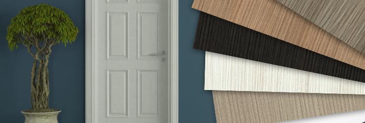 Zimmerturen Banner Muster Material