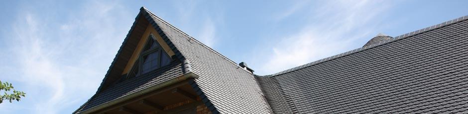 Dacheindeckung mit Biberschwanzziegeln