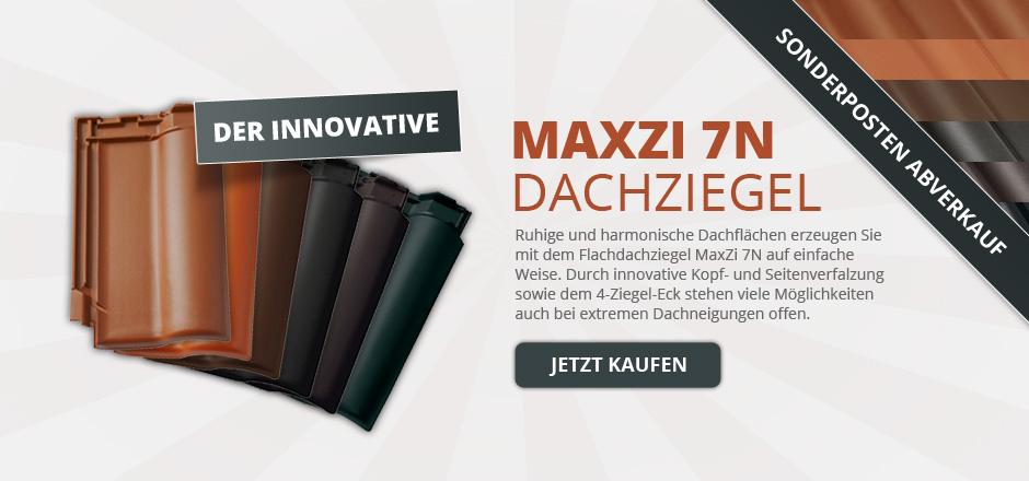 Dachziegel MaxZi 7N Abverkauf