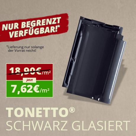 TONETTO® schwarz glasiert