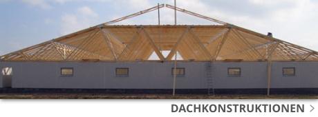 Dachkonstruktionen bei Franke Baustoffe