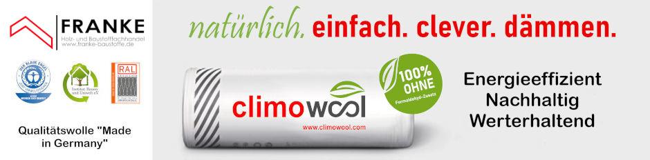 Climowool Dämmung
