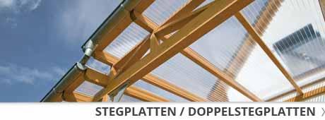 Stegplatten / Doppelstegplatten